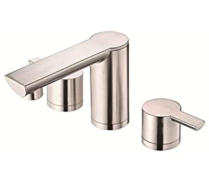 Danze DH300677BN Adonis Two Handle Widespread Lavatory Faucet, Brushed Nickel Brushed Nickel