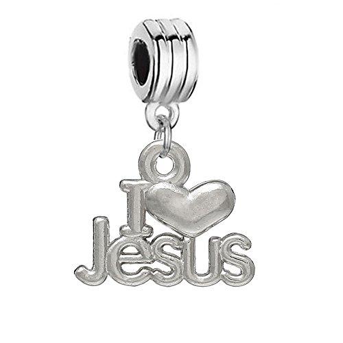 I-Love-Jesus-Dangle-Bead-Spacer-for-Snake-Chain-Charm-Bracelet