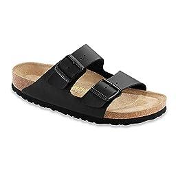 Birkenstock Women\'s Arizona Black Sandals 40 N EU, 9-9.5 N