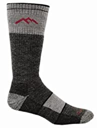 Darn Tough Merino Wool Boot Sock Full Cushion,Black,Small 5.5-7.5