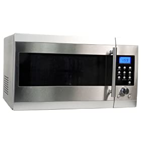 Haier MWM12001SCGSS 1-1/5-Cubic-Foot 1000-Watt Grill and Convection Microwave Oven, Stainless Steel