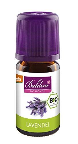 Baldini Lavendelöl ,100% naturreines, ätherisches BIO-Öl...