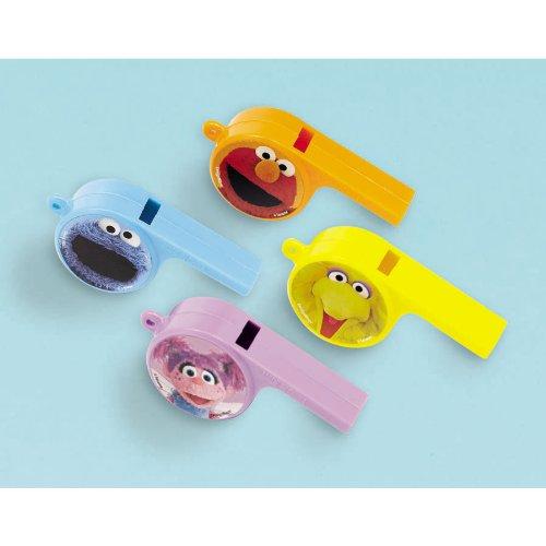 Amscan Sesame Street Whistles - 1