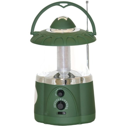 Northpoint LED Lantern with 4-LED Flashlight and AMFM
