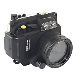 CameraPlus - High Performance Underwater Case Camera Housing Diving For Sony NEX5R Camera 16-50mm Up To 40 Meters(130ft.)