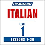 Italian Level 1: Learn to Speak and Understand Italian with Pimsleur Language Programs |  Pimsleur