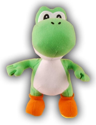 Super Mario Bros. Wii Plush - Yellow Yoshi - 1
