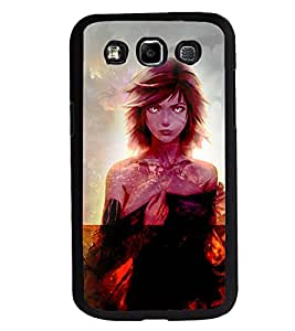 Printvisa 2D Printed Girly Designer back case cover for Samsung Galaxy E7- D4622