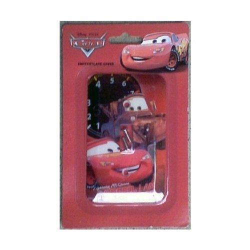 Disney Pixar Cars Lighting Mcqueen Switchplate Cover - Kids Nursery Bedroom Playroom Decor Light Switch Plate
