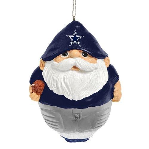 Dallas Cowboys Gnome Ball Ornament
