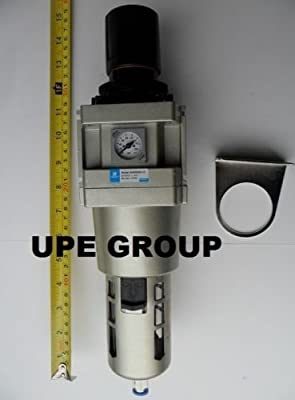 "1"" Air Pressure Regulator In line for Compressed Air Compressor w/ Gauge"