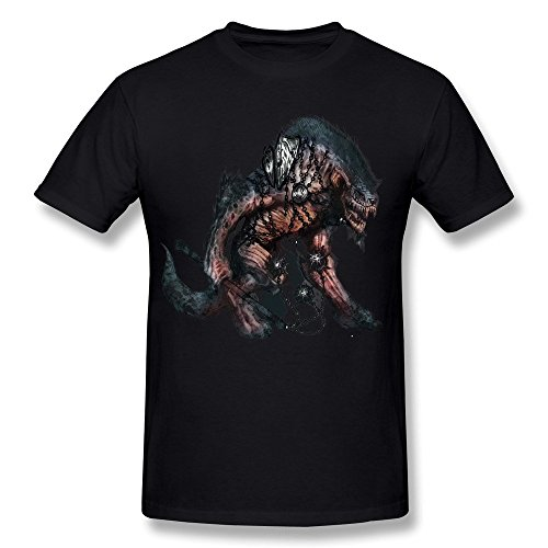JIAYUHUA Men's Dungeons Dragons Seeks Out Mainstream With New Adventure Abyss T-shirt XXL Black (The New Exotic Marigold Hotel compare prices)
