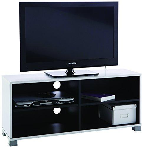Demeyere-453218-TV-Bank-Grafit-wei-schwarz