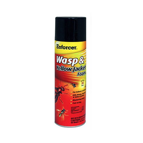 ZEP FWH-16 Yellow Jacket Wasp Control Foam Spray, 16-Ounce us imports bussmann fuses fwh 500a 500v ac dc fwh 500a fuse