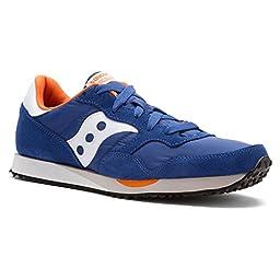 Saucony DXN Trainer Running Shoe Blue Orange 12.5 US