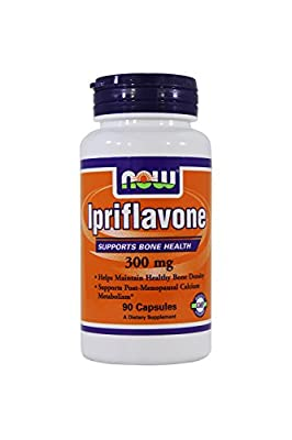Now Foods: Ipriflavone Supports Bone Health 300 mg, 90 Caps (2 pack)