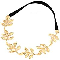 Habors Gold Olive Branch Hair Chain for Women