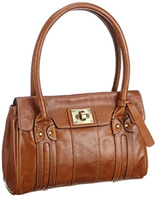 Clarks Brown Leather Shoulder Bag 10