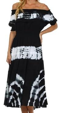 Sakkas Maria Peasant Gypsy Boho Dress