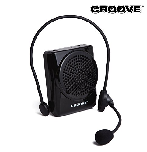 Best Mini Teachers Voice Amplifier! With Waistband, 20 Watts, Good For; Speakers -Yoga Instructors - Gym Directors- Coaches- Presentations- Seniors And Tour Guides.