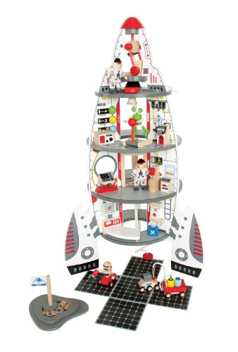 Hape E3003 Discovery Spaceship and Lift Off Rocket