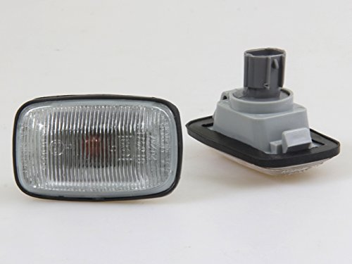 FENDER GUARD REPEATER SIDE INDICATOR LAMP LIGHT NEW 2 PIECE RH / LH TOYOTA HILUX LN145 LN166 1997 - 2005 (Toyota Hilux Ln166 compare prices)