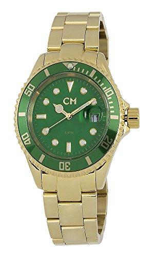 Carlo Monti - CM507-299 - Montre Homme - Quartz Analogique - Bracelet Acier Inoxydable Doré