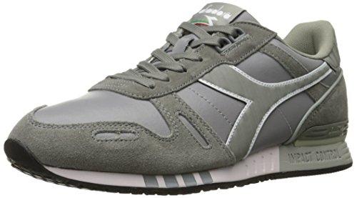 Diadora Men's Titan Leather L/S Skate Shoe,Ash Grey,9 M US