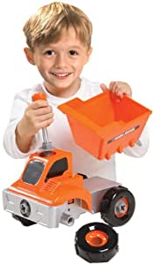 Black And Decker Junior Build And Play Dump Truck (Closed Box)
