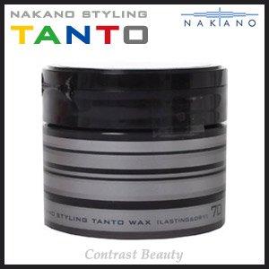 ナカノ スタイリング タント ワックス 7 ラスティング&ドライ 90g ≪ナカノタント≫