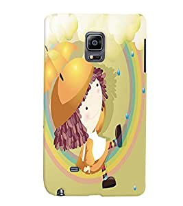GADGET LOOKS PRINTED BACK COVER FOR Samsung Galaxy Note Edge MULTICOLOR
