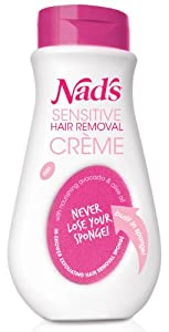 Nad's Sensitive Hair Removal Creme, 10 Ounce