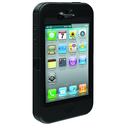 OtterBox Defender Case for iPhone 4 (Black)[Retail Packaging]
