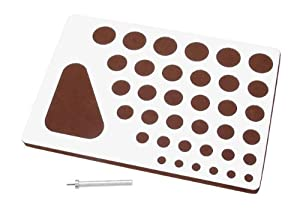 Darice Quilling Board and Tool, 2-Piece Set
