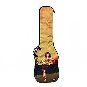 phitz bass guitar case distressed hula ph67272spb musical instruments. Black Bedroom Furniture Sets. Home Design Ideas