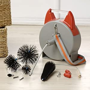 Amazon Com Ductsmart 25ft Dryer Duct Vent Cleaning System Home Improvement