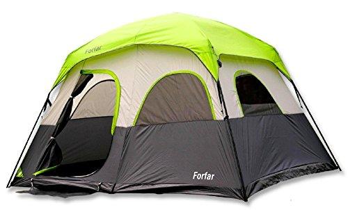 Forfar 5 Persons 3 Seasons 2 Rooms Waterproof Outdoor Camping