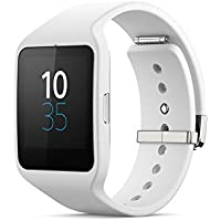 Sony SWR50 1.6-Inch Transflective Display SmartWatch 3 For Android Wear Android 4.3 And Onwards - Black White