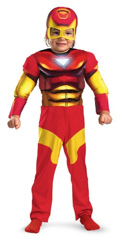 Muscle Chest Iron Man Mark VI Costume - Toddler Small