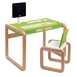 Janod 4509603 graffiti set scrivania e sedia da studio per bambini giochi e for Bureau janod