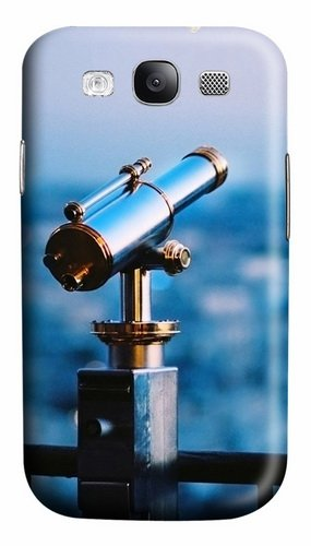 Astronomical Telescope Custom Polycarbonate Hard Case Cover For Samsung Galaxy S3 Siii I9300