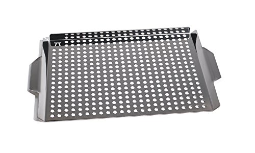Stainless Steel Large Grill Grid (Fish Rack For Grilling compare prices)