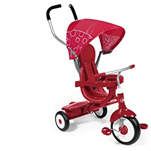 Radio Flyer 4-in-1 Trike Red by Radio Flyer