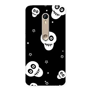 Gorgeous Skull Star Back Case Cover for Motorola Moto X Style