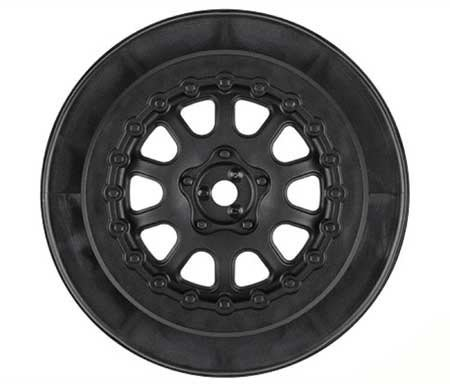 Pro-Line Racing 272703 Pro Trac Renegade 2.2/3.0 Wheels, Black (2) - 1