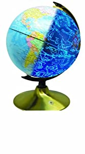 2-in-1 Earth & Stars Light-up Globe - LIMITED EDITION