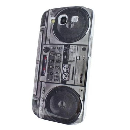 The Beautiful Old Radio Cassette Player Hard Skin Cover Case For Samsung Galaxy S Iii S3 I9300