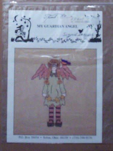 My Guardian Angel Stitching Craft Pattern front-61713
