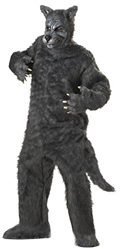 California Costumes Men's Plus-Size Big Bad Wolf Costume In Plus