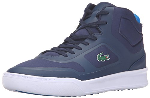 Lacoste Men's Explorateur Mid Spt 316 1 Spm Fashion Sneaker, Navy, 9.5 M US